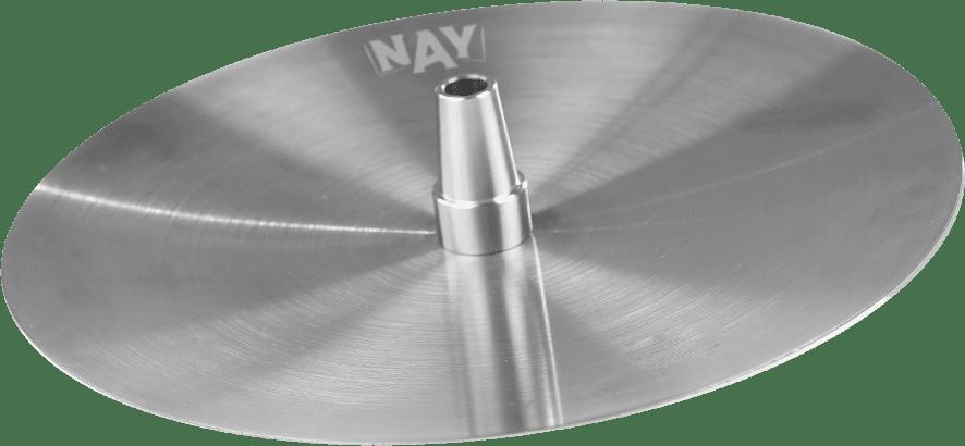 Foto do prato de metal do narguile Shadow Nay